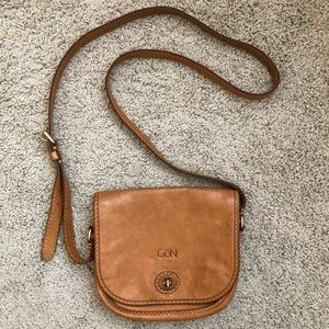 Handbags - Hand-crafted leather crossbody bag